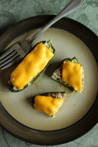 {Philly Cheese Steak Jalapeno Poppers}