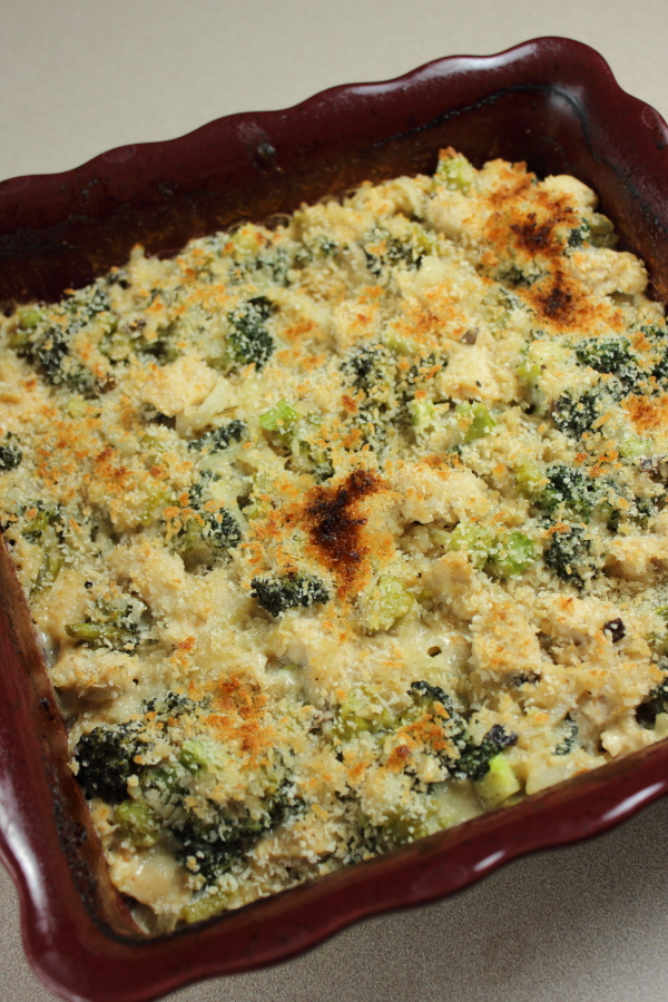 Broccoli Chicken Rice Casserole